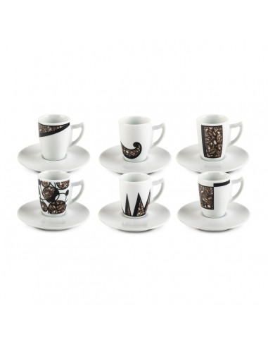 Full coffee - Set 6 tazzine...